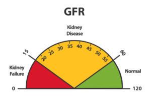 Kidney disease GFR meter