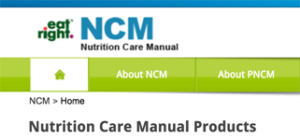 Nutrition Care Manual Rd Nutriscape